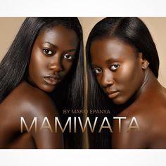 Mamiwata African Mermaids by mario epanya