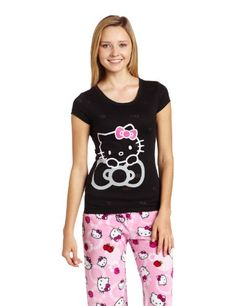 Hello Kitty Cuddly Cutie Burn Out T-Shirt $15.40