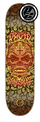 #flipskateboards #david_gonzalez #hell #rider #p2 #skateboard #deck 8x31.5