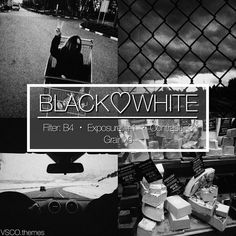 "240 Likes, 12 Comments - vsco themes (@vsco.themes) on Instagram: ""BLACK❤️WHITE ✔️ 