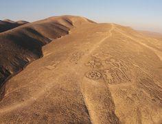 Geoglifos de Chug Chug (Chile) - Uno de los tesoros del desierto de Atacama.