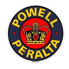 "Powell Peralta Supreme 6"""" Reissue Sticker"
