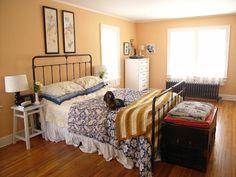 Natasha's Cozy & Cheerful Bedroom  My Bedroom Retreat Contest - love this bedroom!