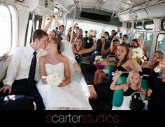 Awesome wedding day transportation