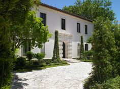 Stucco Exterior Design Ideas, Pictures, Remodel and Decor