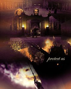 """Hogwarts is threatened! Man the boundaries. Protect us! Do your duty to our school!"" ... ""I've always wanted to use that spell!""