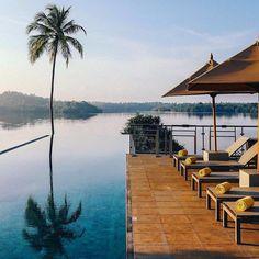 Infinity pool... #Regram via Tri Lanka