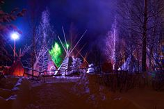 Amazing and mystical New Years Eve celebrations in Finland near Rovaniemi #NewYearsEve #Veltra #Finland