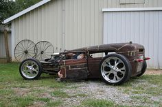 rat rods | Radical Rat Rod | Flickr - Photo Sharing!- love the rod not so much with those rims eekkk.