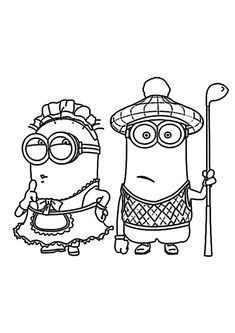 Minions Christmas Coloring Pages Unique Free Minion Coloring Pages Bestofcoloring Minion Coloring Pages, Cute Coloring Pages, Disney Coloring Pages, Christmas Coloring Pages, Free Printable Coloring Pages, Adult Coloring Pages, Coloring Pages For Kids, Coloring Books, Free Printables