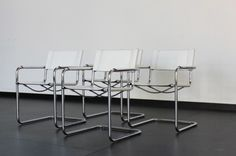 Set of 8 Matteo Grassi 'MG5' Dinner Chairs - Mooiestukken