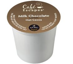 Cafe Escapes Milk Chocolate Keurig K-Cups For Sale at CapeJava.com