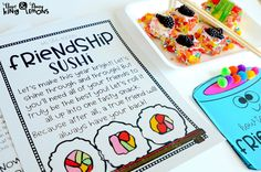 Friendship Sushi:  C