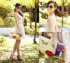Phoebes Merchandise I Phone Case, Wagw Bag, Zero Uv Sunnies, Didd Skirt