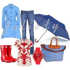 raining day! by joliedy on Polyvore