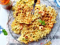 Unser beliebtes Rezept für Omelettwaffeln und mehr als 65.000 weitere kostenlose Rezepte auf LECKER.de. Fall Breakfast, Number Cakes, Waffle Recipes, Omelette, Nutritious Meals, Macaroni And Cheese, Cravings, Waffles, Pie
