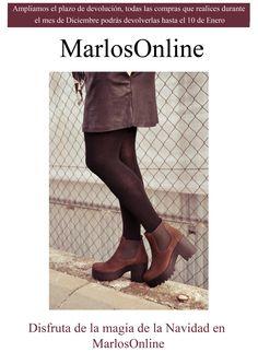 ¡Ampliamos el plazo de devolución!  #marlosonline   #marlosshoes   #calzadosmarlos   #calzadosycomplementos   #shoes   #calzado   #zapatos   #navidad2014