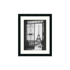 'The Eiffel Tower From The Trocadero, 1925' Framed Print by Gall ❤ liked on Polyvore featuring home, home decor, wall art, parisian home decor, eiffel tower wall art, eiffel tower home decor, parisian wall art and paris home decor