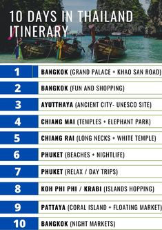 Looking for 10 days in Thailand itinerary? Here's the suggested itinerary in a nutshell. Click to read the detailed itinerary for 10 days in Thailand and discover the best tips to make the most of your trip!