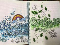 cuadernos School Notebooks, Decorate Notebook, K2, Some Pictures, Zentangle, Diy And Crafts, Doodles, Bullet Journal, Letters