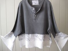 Bohemian Gypsy Hippie Winter Linen Lagenlook by BellaLucePearl, $43.00