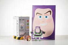 Geekstra.com'dan MOMOT Disney Paper Toyz! Toy Story - Buzz Lightyear