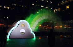 McDonald's Made a Big Green Rainbow Appear in Chicago Ahead of St. Patrick's Day – Adweek