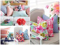 almofadas coloridas - Pesquisa Google