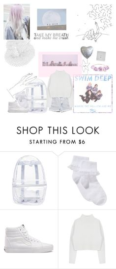 """""""where the heaven are we"""" by spacemode ❤ liked on Polyvore featuring Levi's, Topshop, John Lewis, Vans, Dion Lee and TalisLittleTag"""