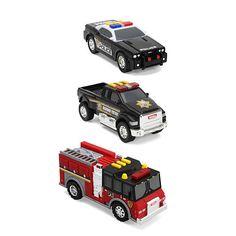 Tonka 3-Pack Vehicles - Fire Engine, Police Cruiser and Highway Patrol Pickup $39.99  #BestPrice