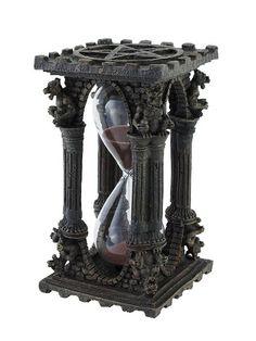 Gothic Gargoyle Pentacle 5 Minute Hourglass Timer:Amazon: $25