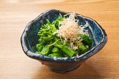 Ohitashi is one of the traditional Japanese way of cooking. Leafy green vegetables such as spinach and variety of mushrooms are the classic ingredients.