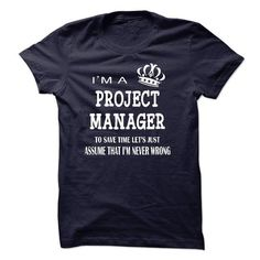 i am a PROJECT MANAG