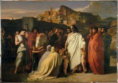 """Hippolyte Flandrin: """"Jésus Christ et les petits enfants"""",  1836/38, Lisieux…"""