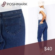 Vintage Denim Riders High Waisted 1980s Mom Jeans True vintage high waisted mom jeans. Denim Riders brand. Please refer to measurement photos to make sure these will fit you! 3 front pockets, 2 back pockets, belt loops and zipper button closure. In great Preowned condition! Riders Jeans Skinny