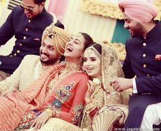 Punjabi wedding royal look❤️