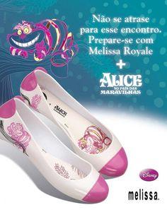 Alice in wonderland Melissa shoes