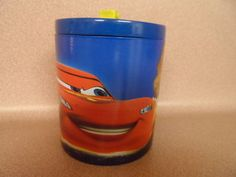 DISNEY CARS. COTTON JAR. NEW WITH TAG.