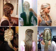 Beautiful hair styles, I love 1 and Unique Hairstyles, Down Hairstyles, Pretty Hairstyles, Braided Hairstyles, Hairstyle Ideas, Beautiful Hairstyle For Girl, Beautiful Braids, Gorgeous Hair, Pretty Braids