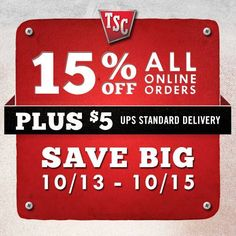 graphic relating to Printable Tractor Supply Coupon called Tractor Present Discount codes