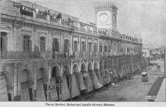 Mercado Tacon, Reina y Aguila - 1900.