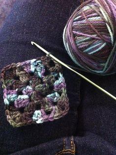 #Crochet Tip: Closing the Corner in a Granny Square