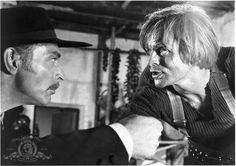 Klaus Kinski and Lee Van Cleef in For a Few Dollars More (1965)