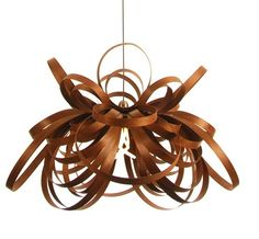 In A Tangle Steam Bent Wood Lighting From Tom Raffield