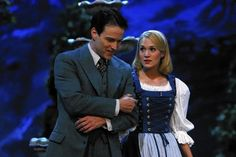 """""""Sound of Music"""" makes TV ratings sing. Viewership numbers for NBC's live showing of 'The Sound of Music' with Carrie Underwood far exceed expectations.  Stephen Moyer, left, as Captain Von Trapp and Carrie Underwood as Maria in """"The Sound of Music Live!"""" #SoundOfMusic #CarrieUnderwood #Austria #WorldWarII"""
