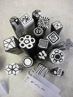 Fimo Zentangle Canes | Flickr - Photo Sharing!