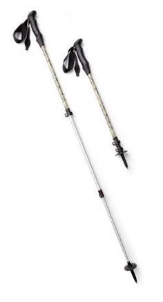 REI Co-op Walker Power Lock Staff Single Pole Walking Hiking /& Trekking Stick