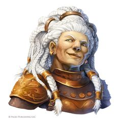 Pathfinder: Involutionist by WillOBrien on DeviantArt Dungeons And Dragons, Fantasy Races, Character Design, Character Inspiration, Character Portraits, Female Dwarf, Fantasy Character Design, Fantasy Inspiration