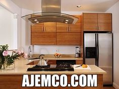 Bamboo Kitchen Cabinets is very attractive. There are many several positive characteristics of these kitchen cabinets. Learn more about bamboo kitchen cabinets Best Home Decor Tips Furniture Unfinished Kitchen Cabinets, Kitchen Cabinets For Sale, Kitchen Cabinet Design, Kitchen Cabinetry, Ikea Kitchen, Kitchen Decor, Kitchen Ideas, Ikea Bathroom, Beautiful Kitchens