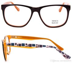 5e9deb7df54 New Arrival 2017 Women Men Frame Spectacles Glasses Frames Square Popular  Classic Eyeglass Frame With Spring